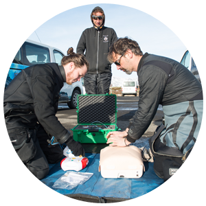 PADI Emergency First Response Spezialgebiet